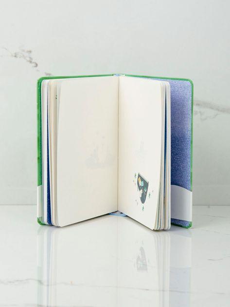 Zielony notes w twardej oprawie                              zdj.                              8