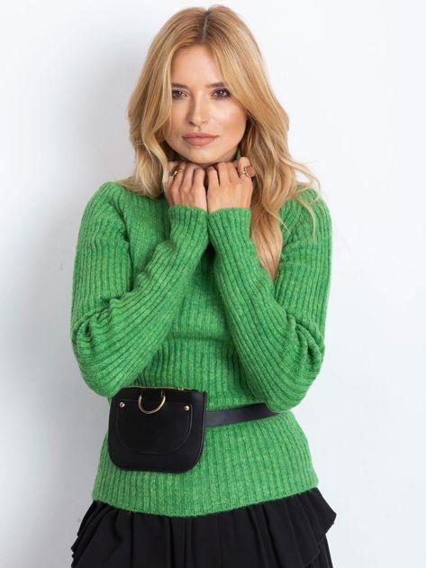 Zielony sweter Milo                              zdj.                              1