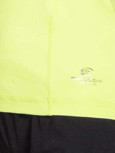 Zielony t-shirt sportowy basic                                  zdj.                                  4