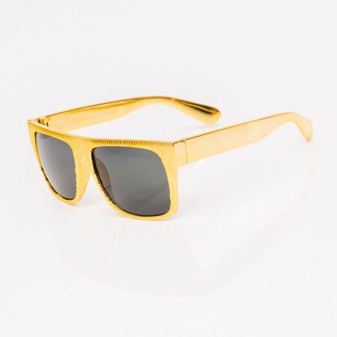 Złote Dziecięce Okulary przeciwsłoneczne                              zdj.                              2