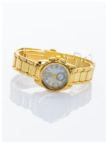 Złoty damski zegarek. Bardzo kobiecy. Mała tarcza. Delikatny.                                  zdj.                                  2