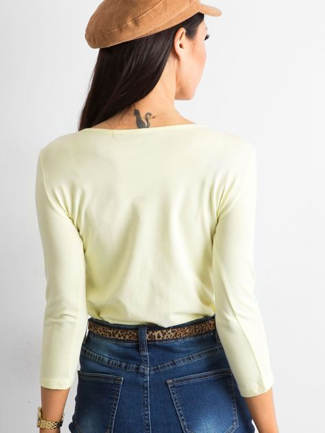Żółta bluzka Mona                              zdj.                              2