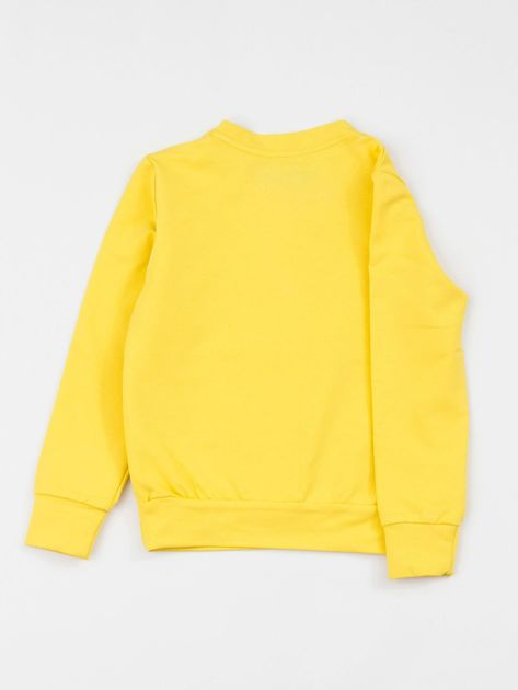 Żółta bluza dziecięca basic                              zdj.                              2