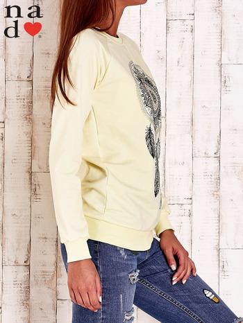 Żółta bluza z łapaczem snów                                  zdj.                                  3