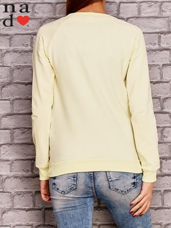 Żółta bluza z napisem MAM FOCHA                                  zdj.                                  4