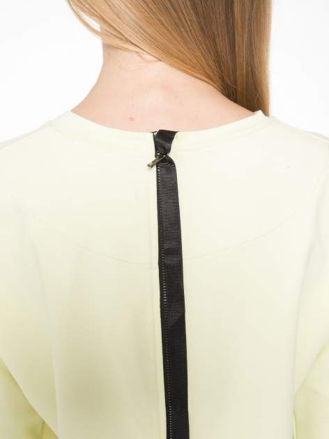Żółta bluza z suwakiem z tyłu                                  zdj.                                  9