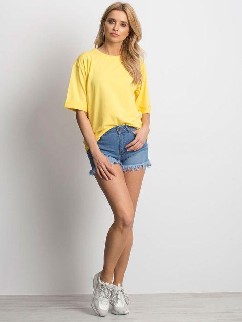 Żółta bluzka Celebration                              zdj.                              4