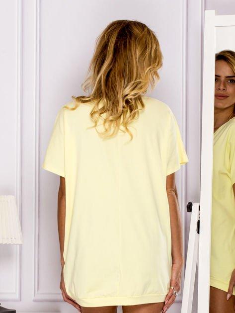 Żółta bluzka DIAMOND                                  zdj.                                  2