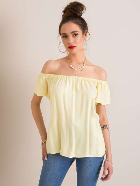 Żółta bluzka Gabrielle