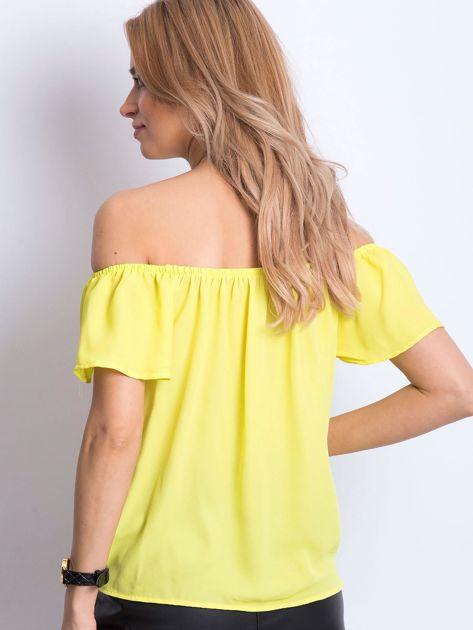 Żółta bluzka Structured                              zdj.                              3