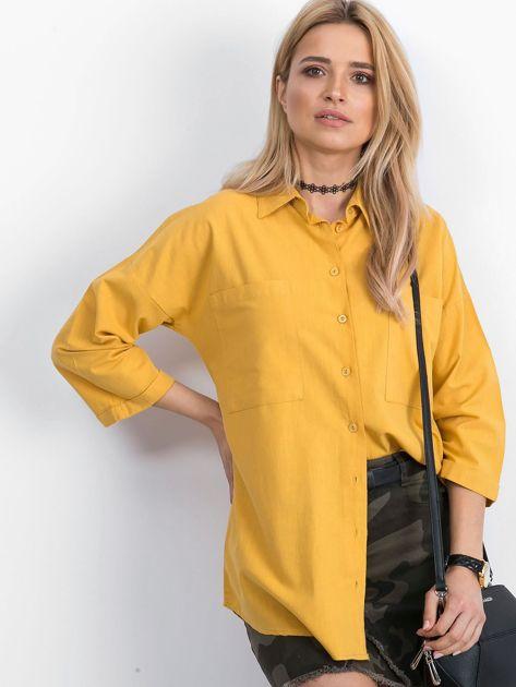Żółta koszula Carnivore                              zdj.                              1