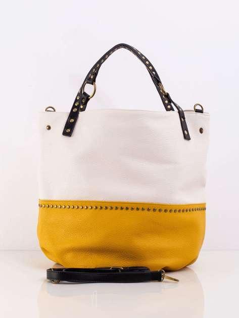 Żółta pojemna torba