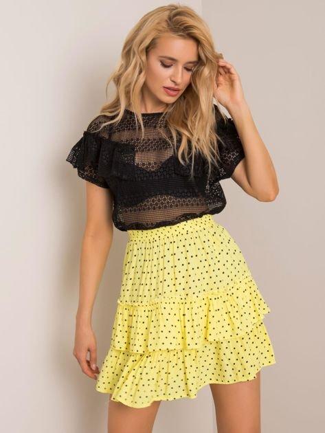 Żółta spódnica Dotty RUE PARIS