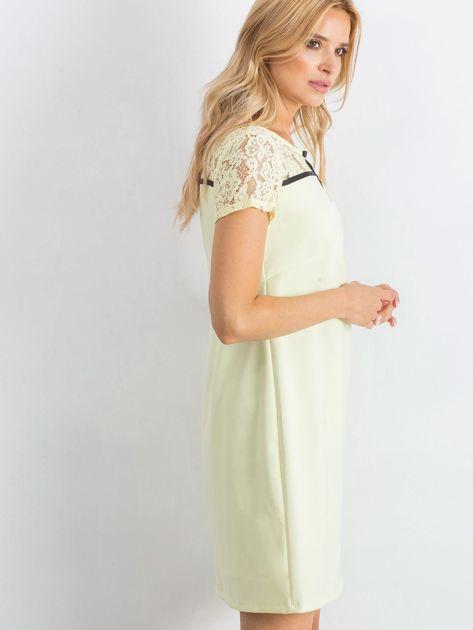 Żółta sukienka Irresistible                               zdj.                              3