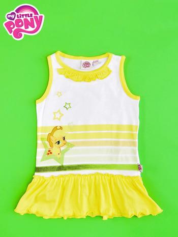 Żółta tunika dla dziewczynki MY LITTLE PONY                                  zdj.                                  1