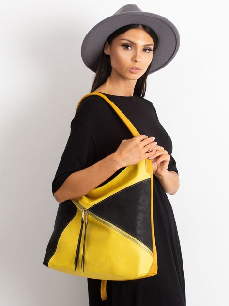 Żółto-czarna miejska torba                              zdj.                              1