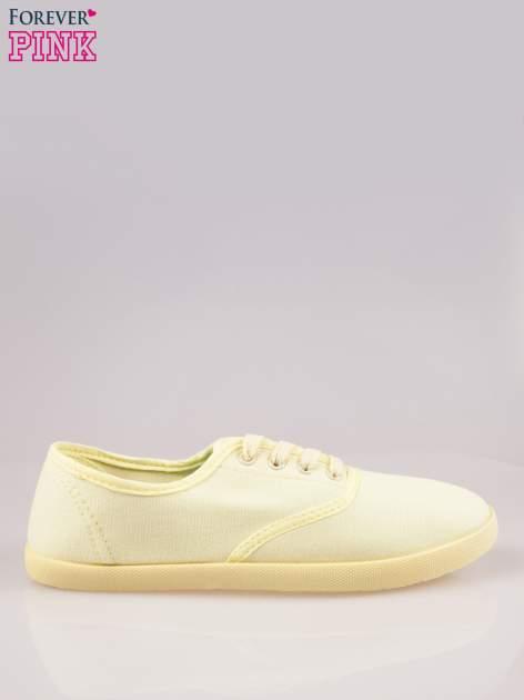 Żółtozielone tenisówki damskie                                  zdj.                                  1