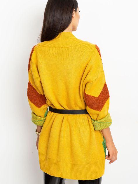 Żółty sweter Fabulous                              zdj.                              2