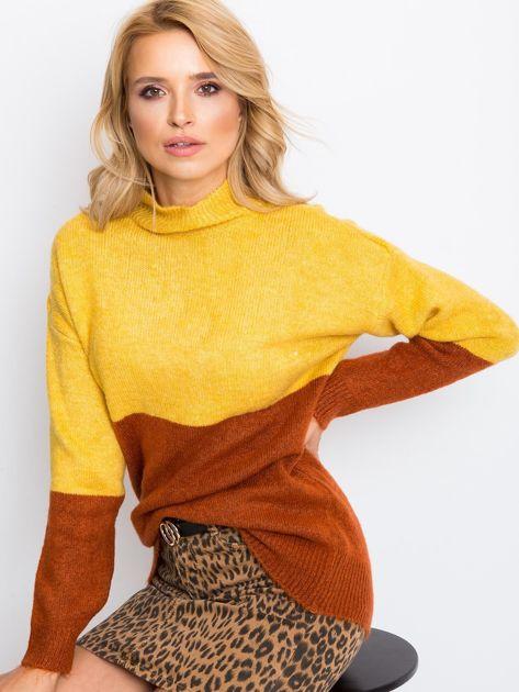 Żółty sweter Taylor                              zdj.                              6