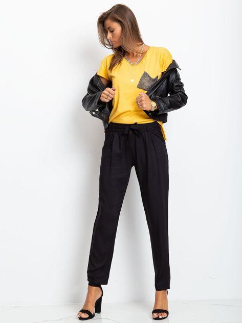 Żółty t-shirt Shelly                              zdj.                              4