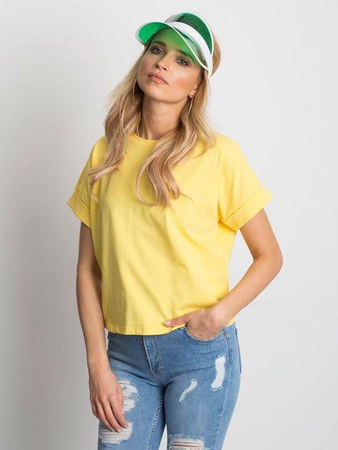 Żółty t-shirt Woodland