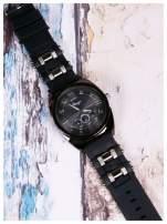 BINGO nowoczesny męski zegarek na miękkim żelowym pasku MEN'S MILITARY STYLE                                  zdj.                                  2