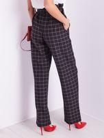 BY O LA LA Czarne eleganckie spodnie w kratę                                  zdj.                                  10
