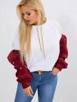 Biała bluza plus size Vacay                                  zdj.                                  1