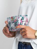 Biała duża torba z kolorowym nadrukiem                                  zdj.                                  5