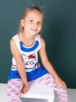 Biała tunika dla dziewczynki HELLO KITTY                                  zdj.                                  3