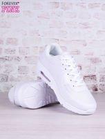 Białe buty sportowe faux leather Milkshake na poduszce powietrznej                                   zdj.                                  3
