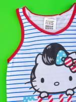 Biały komplet do spania dla dziewczynki ELVIS HELLO KITTY                                  zdj.                                  5