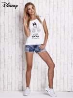 Biały t-shirt DAISY                                  zdj.                                  4
