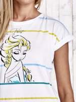 Biały t-shirt FROZEN