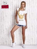Biały t-shirt MINNIE MOUSE                                                                          zdj.                                                                         2