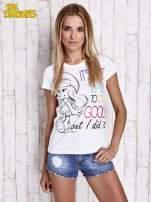Biały t-shirt SMERFY