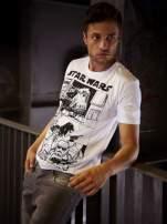 Biały t-shirt męski STAR WARS                                  zdj.                                  10