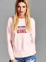 Bluza damska 100% ORIGINAL POLISH GIRL różowa                                  zdj.                                  1