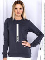 Bluza damska BYK znak zodiaku grafitowa                                  zdj.                                  1