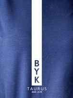 Bluza damska BYK znak zodiaku granatowa                                  zdj.                                  2