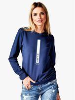 Bluza damska RYBY znak zodiaku granatowa                                  zdj.                                  1