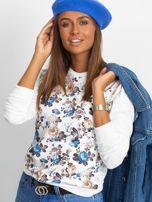 Bluza w niebieskie kwiaty                                  zdj.                                  5