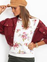 Bluza w różowe kwiaty                                  zdj.                                  1