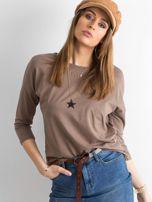 Brązowa bluzka April                                  zdj.                                  1