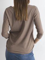 Brązowa bluzka April                                  zdj.                                  2