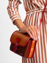 Brązowa damska torebka ze skóry                                  zdj.                                  2