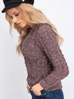 Brązowy sweter Andrea                                  zdj.                                  3