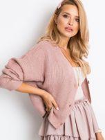 Brudnoróżowy sweter North                                  zdj.                                  3
