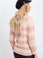 Brzoskwiniowy sweter Harper                                  zdj.                                  2