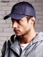 CERRUTI Grafitowa czapka z daszkiem męska                                  zdj.                                  2